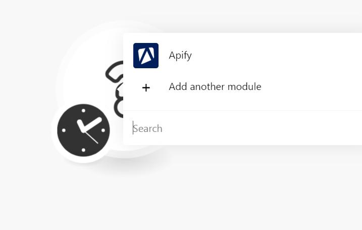 Add Apify module
