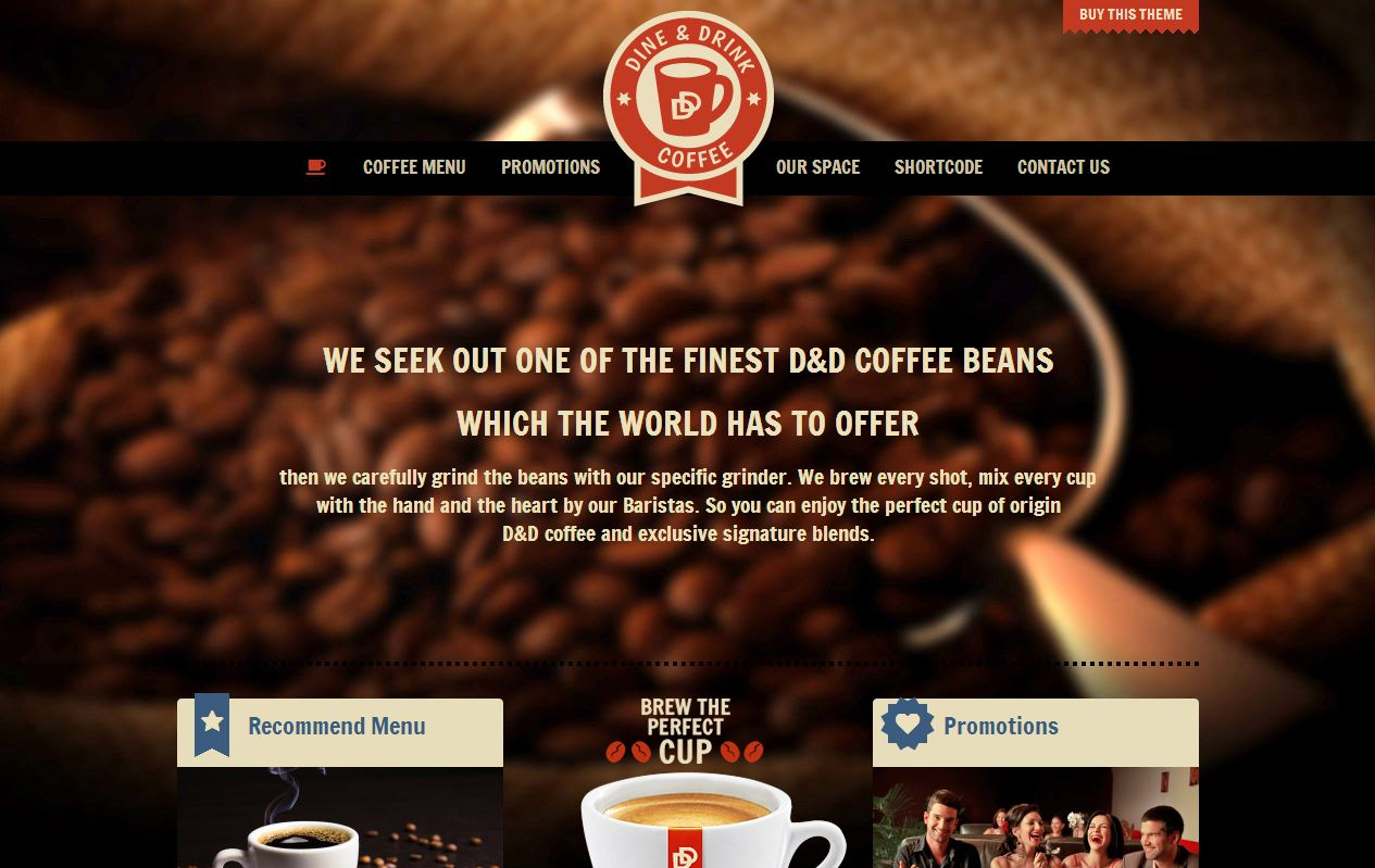top 20 wordpress restaurant themes
