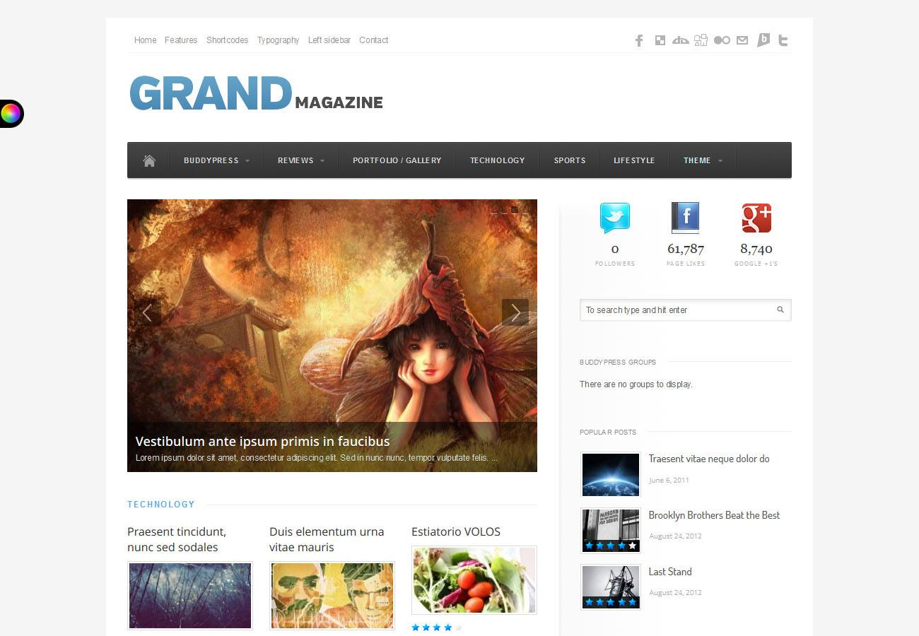 Top 25 Premium BuddyPress Themes | WP Gurus